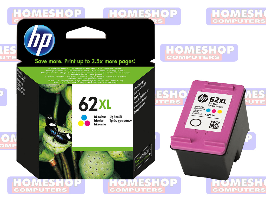 HP NO. 62, CARTRIDGE KLEUR | Homeshop Leeuwarden