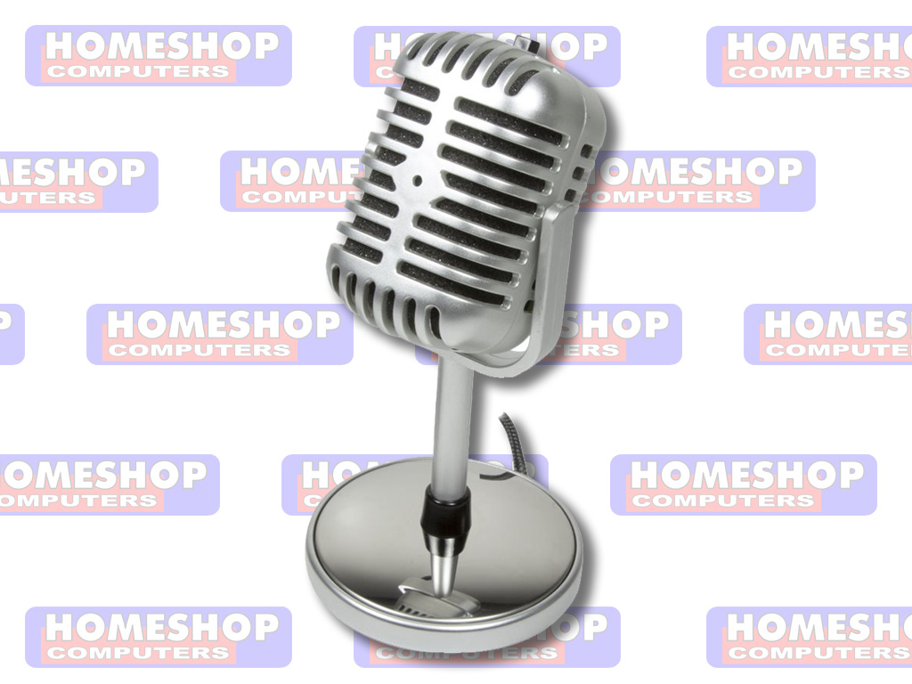 LOGILINK RETRO MIC. | Homeshop Leeuwarden