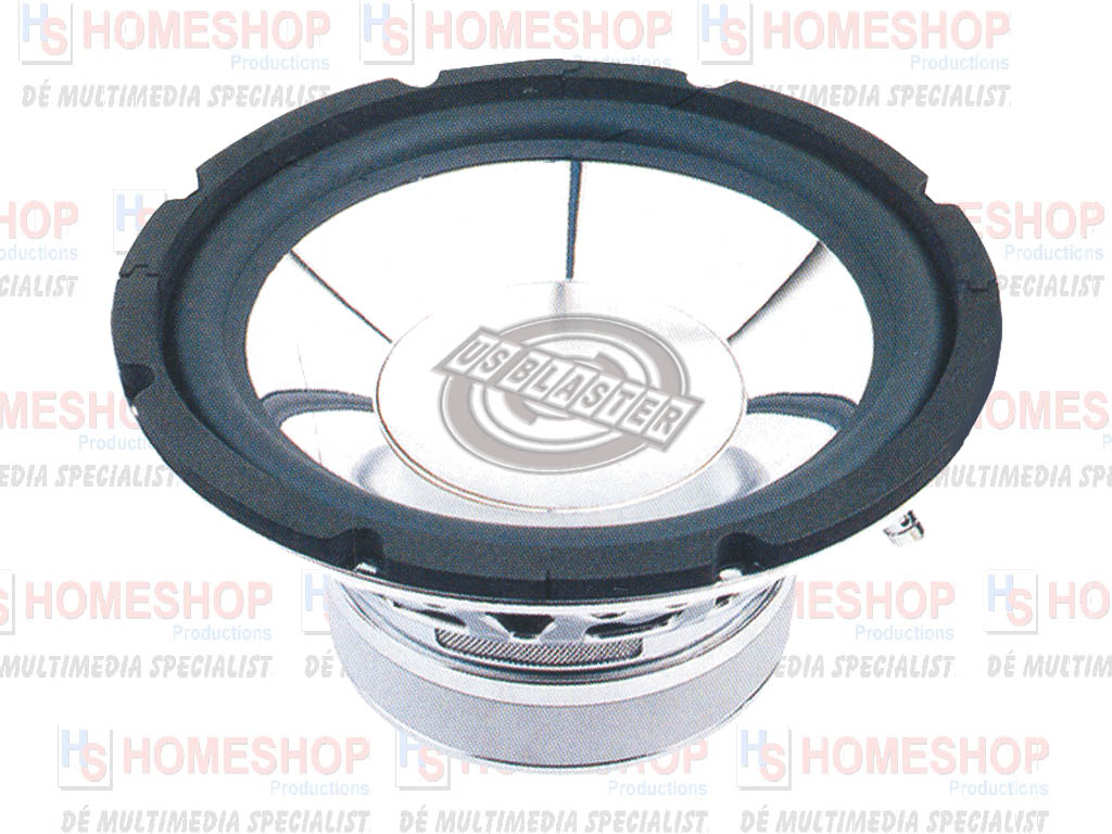 US BLASTER HIGH-END CHROME DESIGN SUBWOOFERS | Homeshop ...