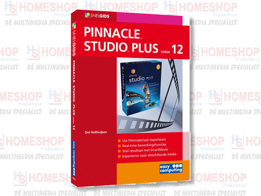 SNELGIDS PINNACLE STUDIO PLUS V12 | Homeshop Leeuwarden